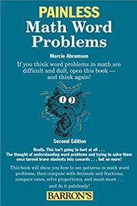 Painless Math Word Problems (Painless Series)