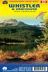 Whistler 1:50,000 & Vancouver 1:20,000 Hiking and Street Map (International Travel Maps) epub download