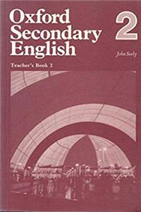 Oxford Secondary English: Tchrs' Bk. 2 epub download