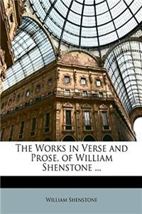 The Works in Verse and Prose, of William Shenstone ... epub download