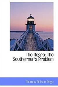 The Negro: The Southerner's Problem epub download