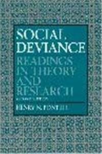 Social Deviance: Readings in Theory and Research epub download